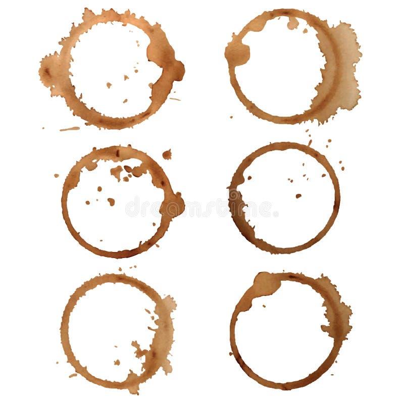 Trace le café illustration de vecteur
