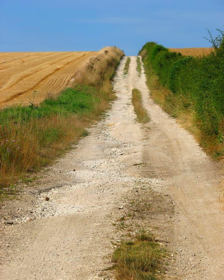 trace rolnika zdjęcie royalty free
