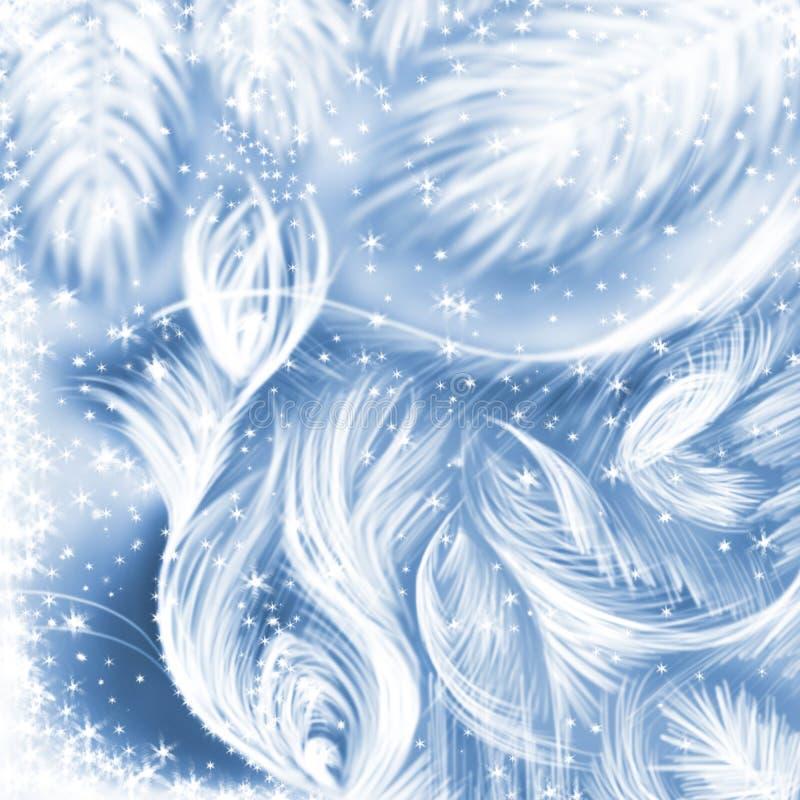 Traceries magici di inverno fotografie stock libere da diritti