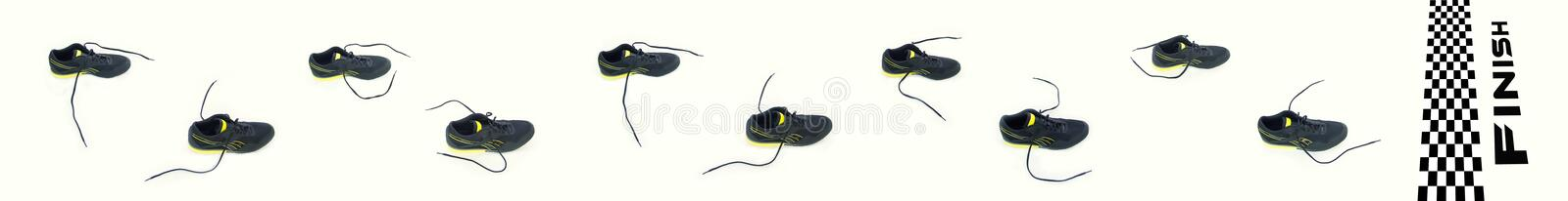 Download Traces stock illustration. Image of foot, naked, illustration - 16272278
