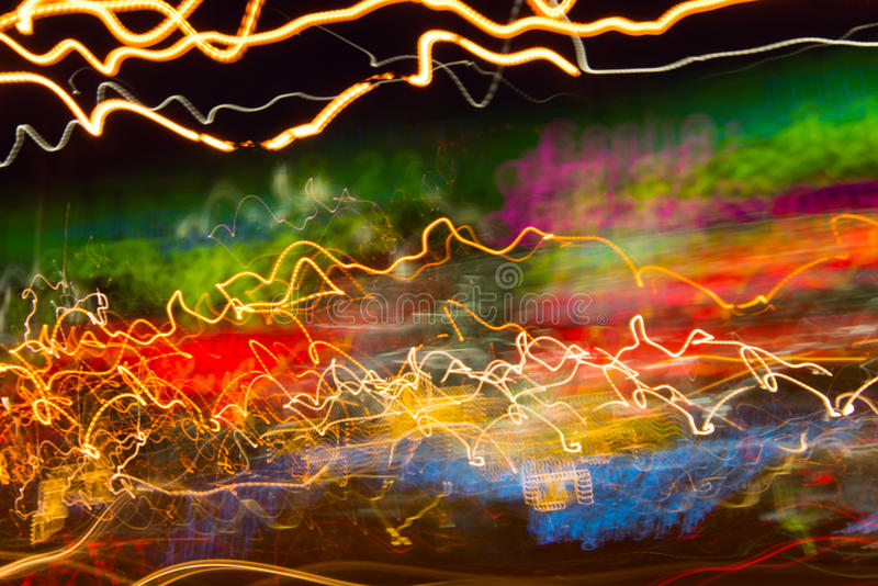 Traces of lights royalty free stock photo
