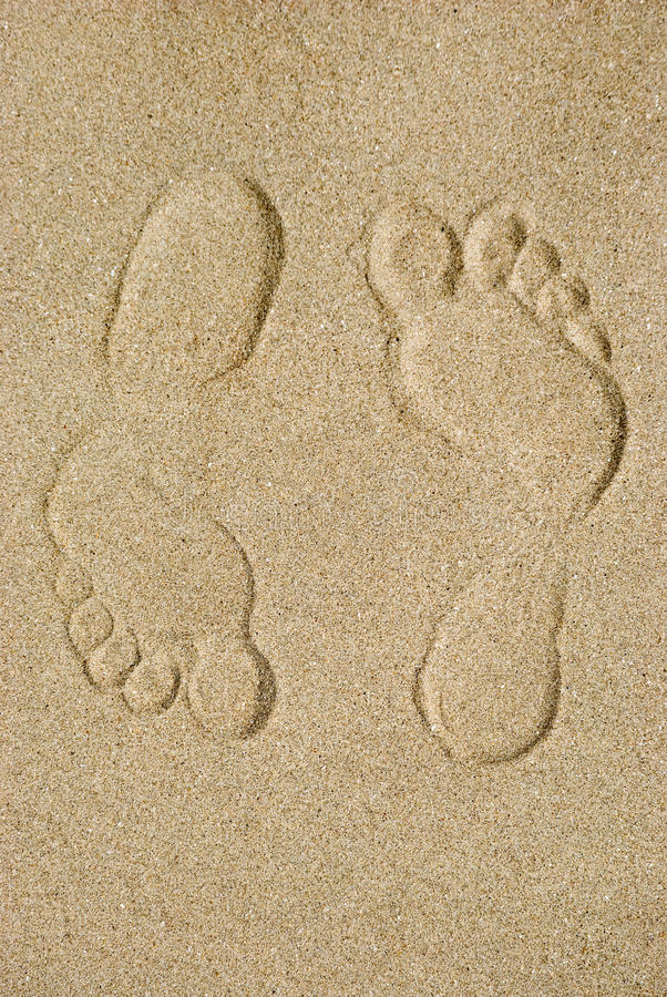Download Traces on sand stock photo. Image of smooth, beach, symbol - 30432284