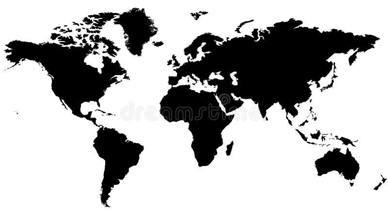tracez le monde illustration de vecteur