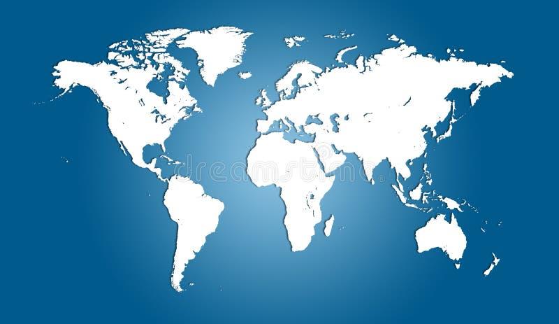 tracez le monde illustration stock