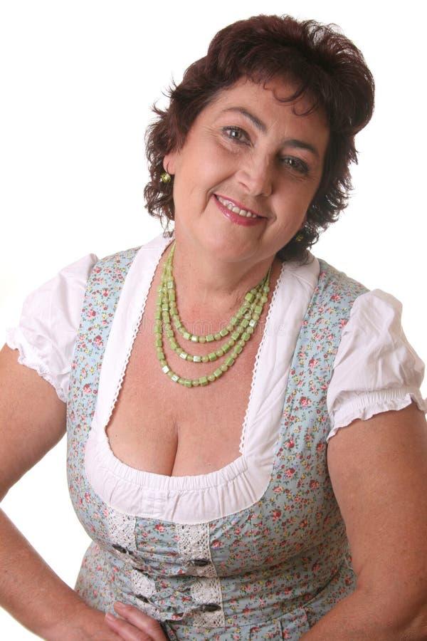 tracht bavarian kobieta obraz stock