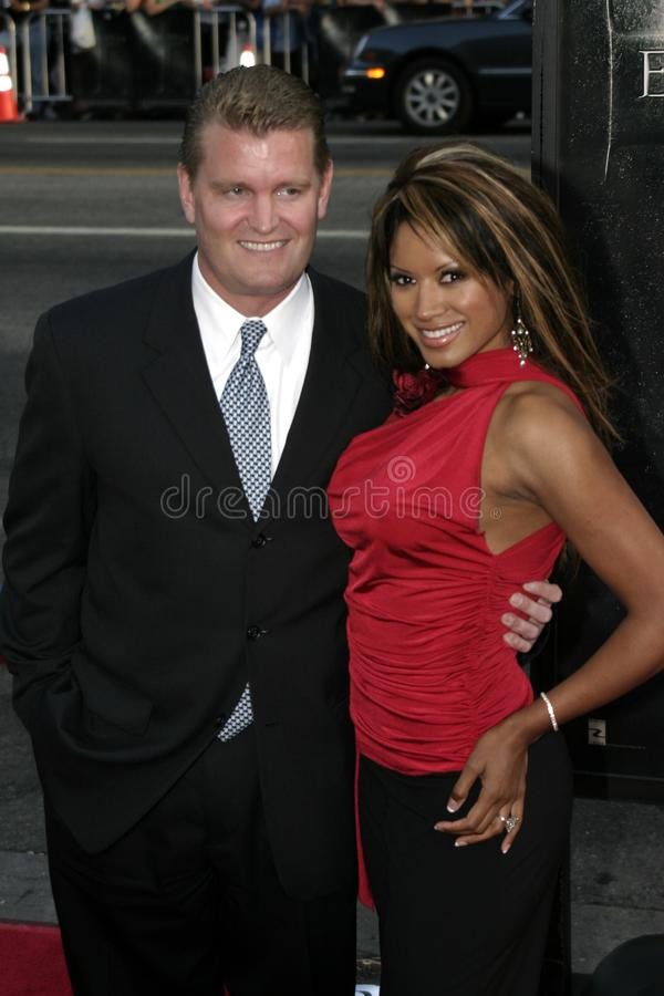 Traci Bingham. At the Los Angeles premiere of `Exorcist: The Beginning` held at the Grauman`s Chinese Theatre in Hollywood, USA on August 18, 2004 stock photos