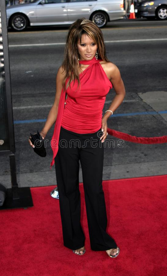 Traci Bingham. At the Los Angeles premiere of `Exorcist: The Beginning` held at the Grauman`s Chinese Theatre in Hollywood, USA on August 18, 2004 stock photo
