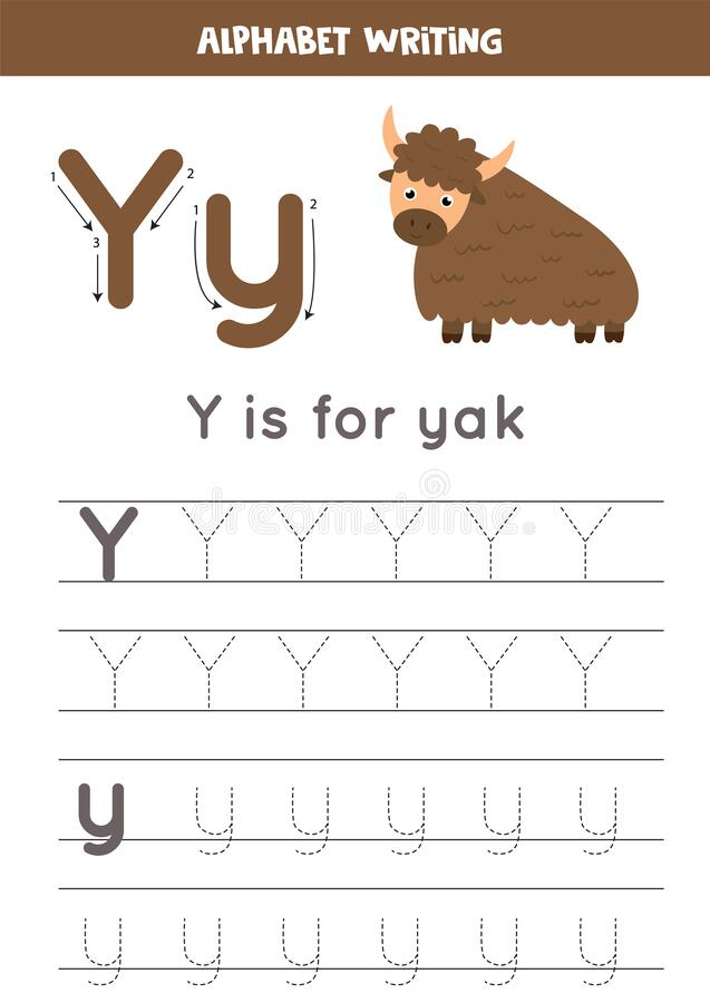 Tracing Letter Y Stock Illustrations – 91 Tracing Letter Y Stock  Illustrations, Vectors & Clipart - Dreamstime