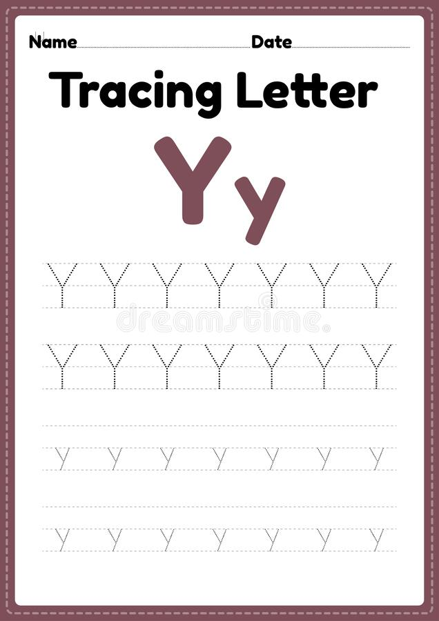 Tracing Letter Y Stock Illustrations – 100 Tracing Letter Y Stock  Illustrations, Vectors & Clipart - Dreamstime