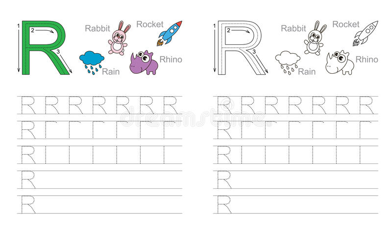 Letter R Worksheets - School Sparks