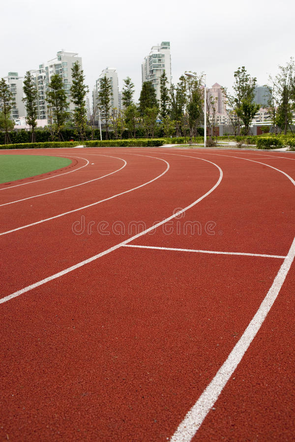 Track royalty free stock photography