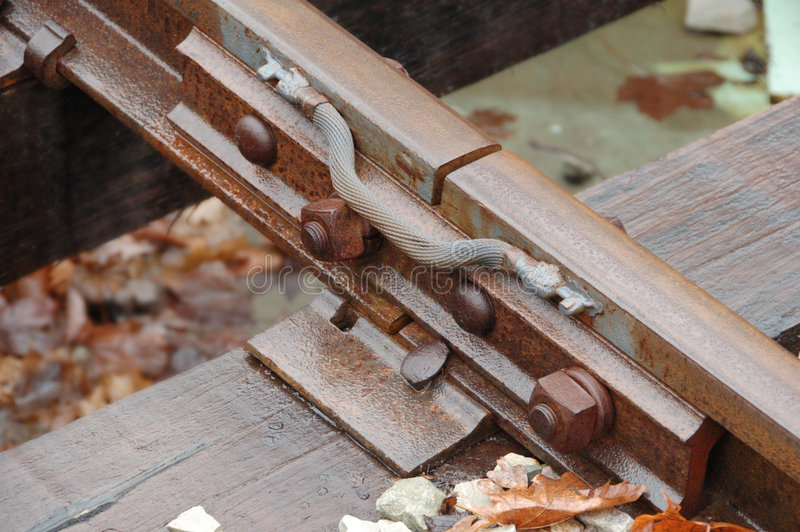 Download Track stock image. Image of autumn, rust, nuts, track, connector - 476239