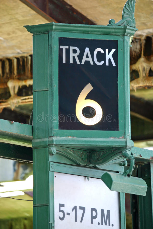 Track 6 stock images