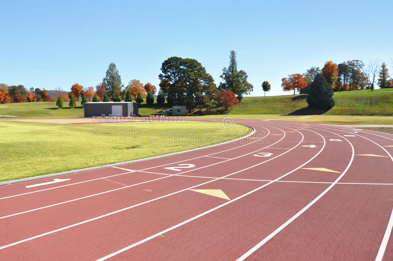 Download Track and field course stock image. Image of field, fitness - 23250305