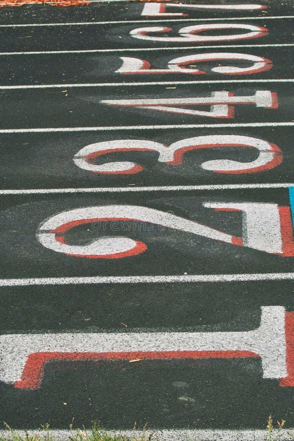 Track Lanes royalty free stock image