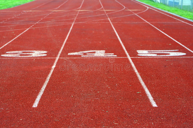 Track Lanes royalty free stock images