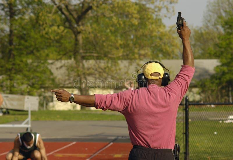Download Track Meet Starting Gun stock photo. Image of outdoor - 2522152
