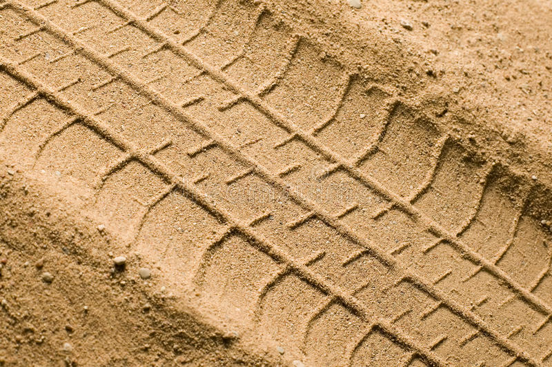 Download Track on sand stock image. Image of tire, trace, path - 12167019