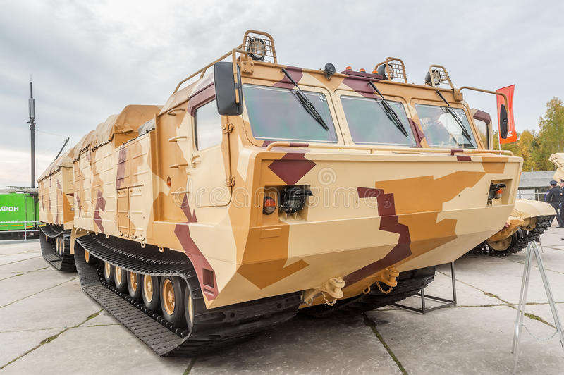Download Tracked Carrier DT-30P1. Russia Editorial Photography - Image: 39671817