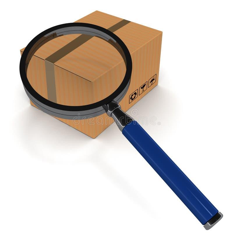 Download Tracking stock illustration. Image of under, cargo, order - 30454543