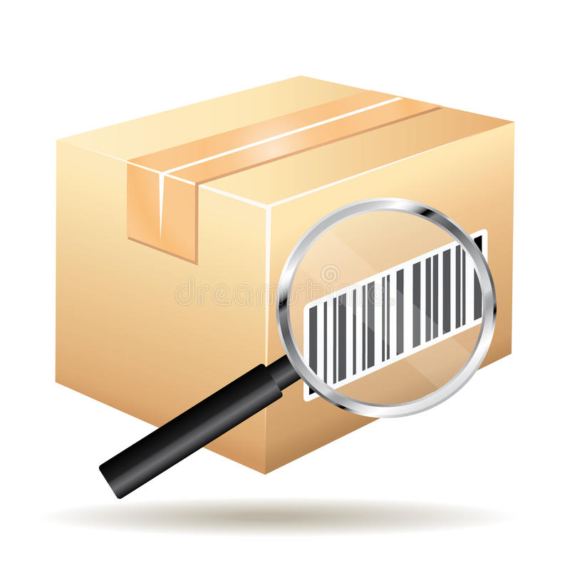 Tracking number icon.