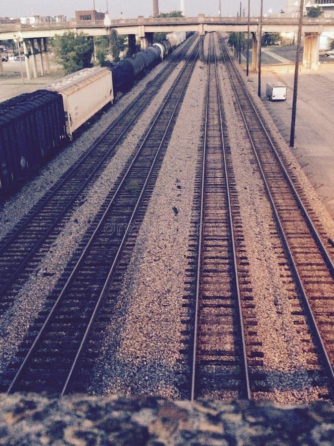 The Tracks stock photos