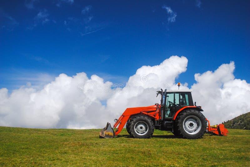 Tracteur photo libre de droits