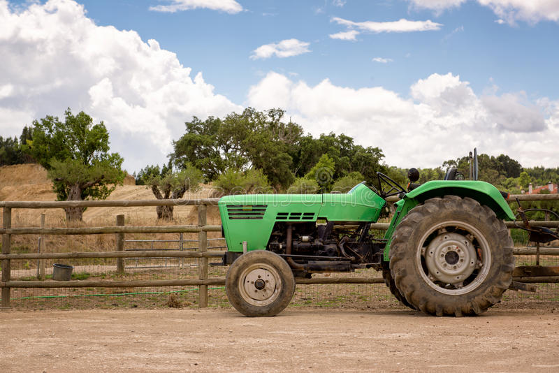 Tracteur photo stock