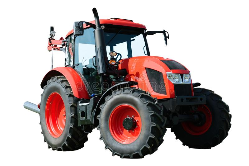 Tracteur agricole moderne photo stock