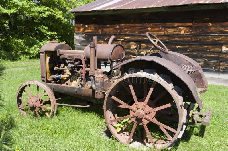 Tracteur d'essence de McCormick-Deering image stock