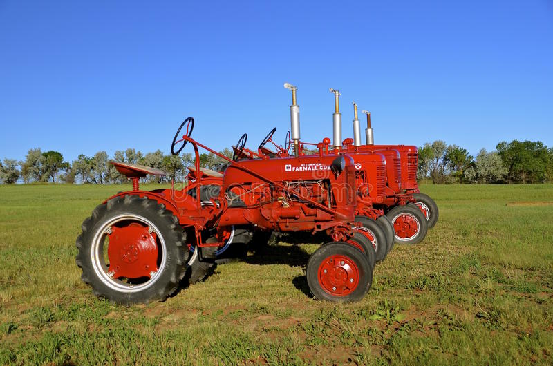 Tracteur de Farmall CUB photographie stock