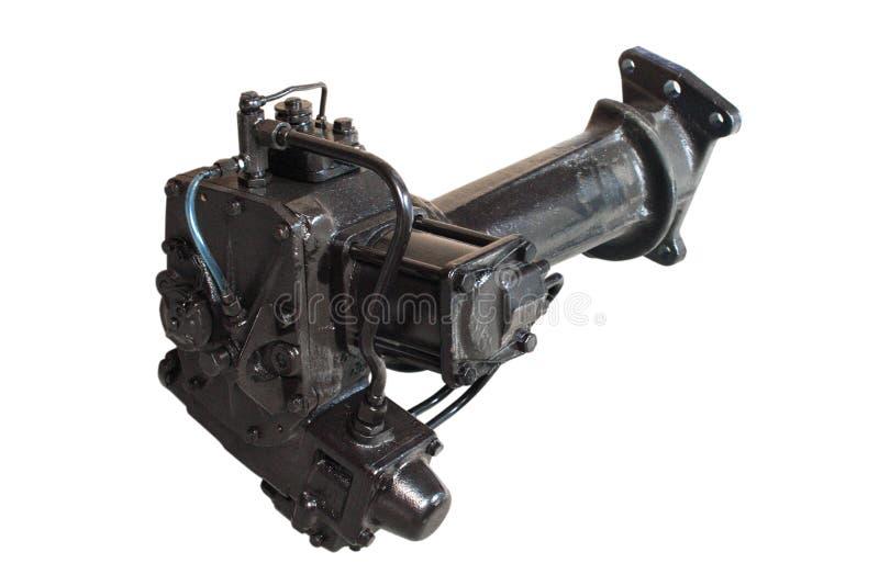Tracteur de pompe de direction d'énergie hydraulique photos libres de droits
