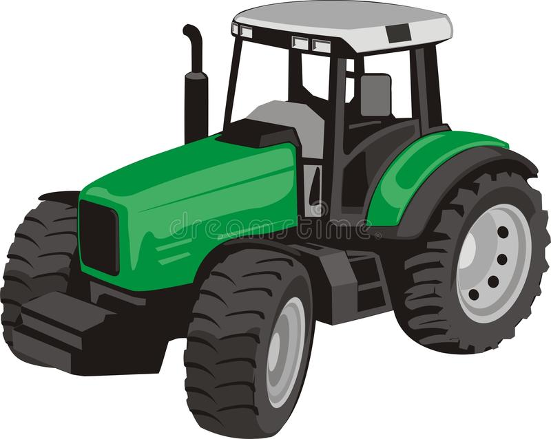 Tractor royalty free illustration