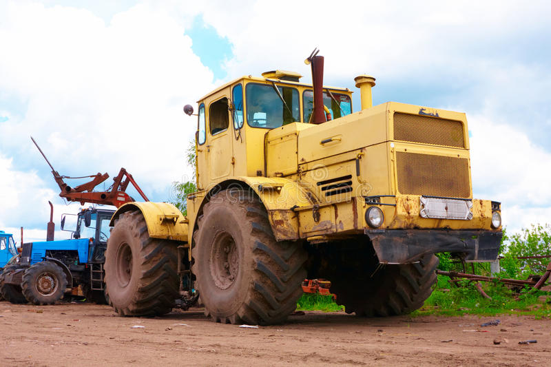 Download Tractor stock photo. Image of cloud, agriculture, protector - 14499922