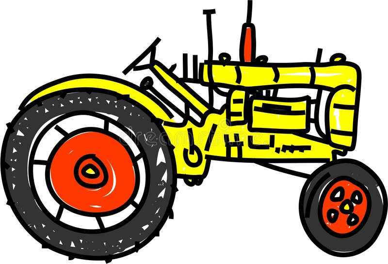 Download Tractor stock illustration. Image of farming, clipart - 2598433