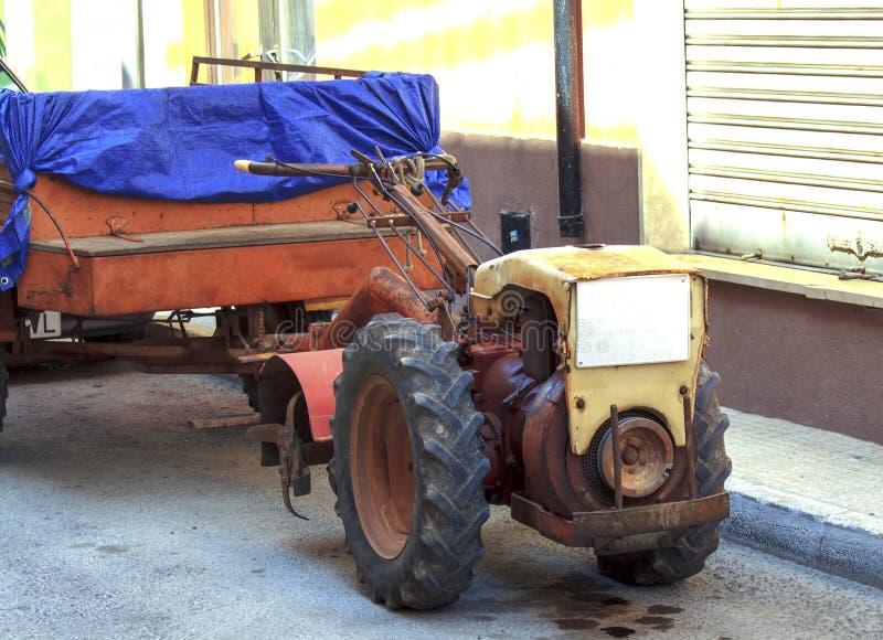 Download Tractor stock photo. Image of horizontal, rust, urban - 26562456
