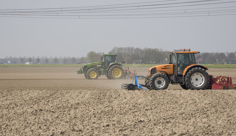 Download Tractor stock photo. Image of resources, cultivating, farm - 805152