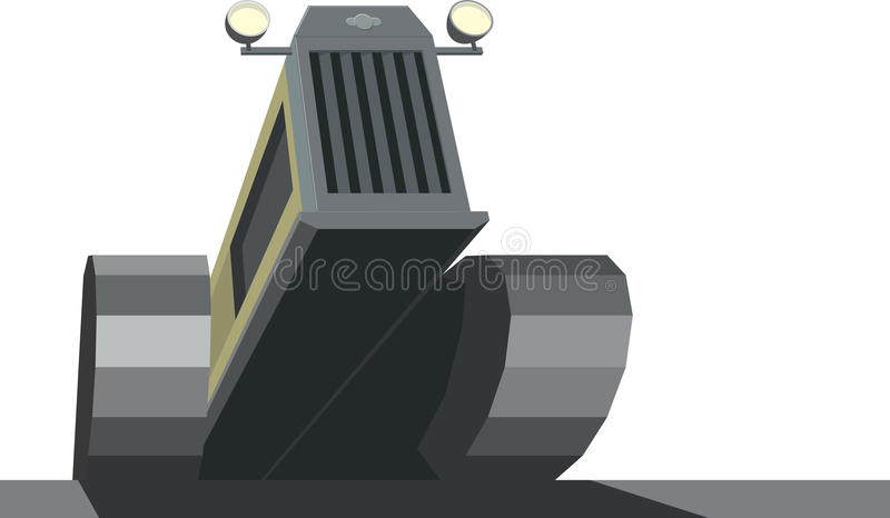 Tractor vector illustration