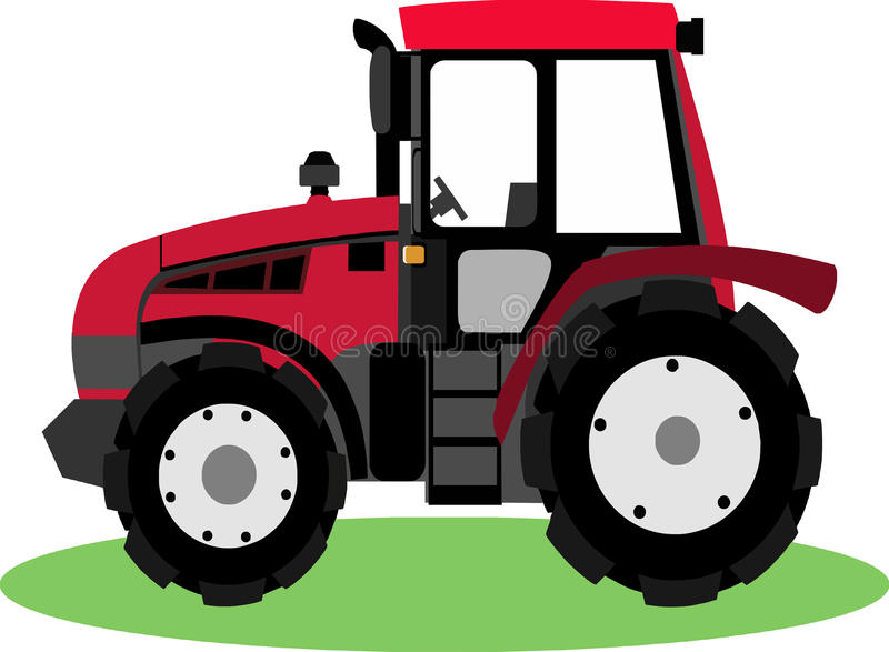 cute tractor cartoon stock vector illustration of engine 59148881 rh dreamstime com tractor clip art for kids tractor clipart images