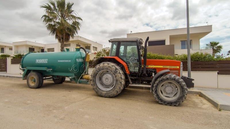 Tractor de Masey Ferguson fotos de archivo