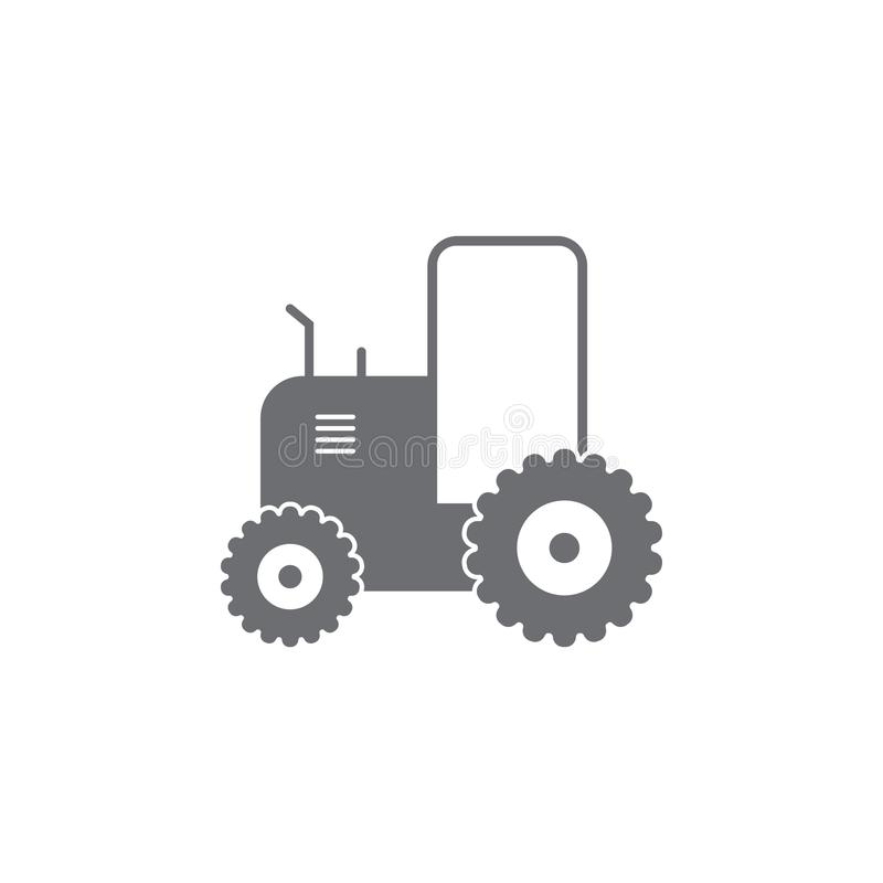 Tractor icon. Simple element illustration. Tractor symbol design from Transport collection set. Can be used for web and mobile royalty free illustration