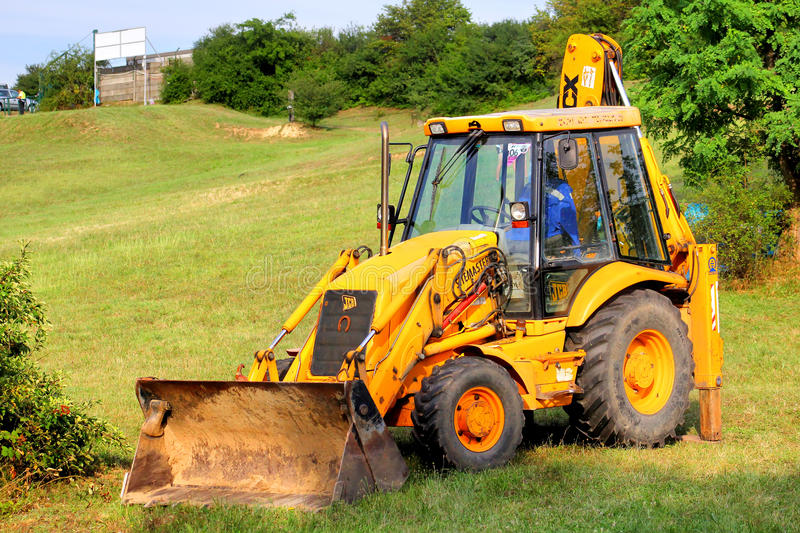 Tractor JCB royalty free stock image