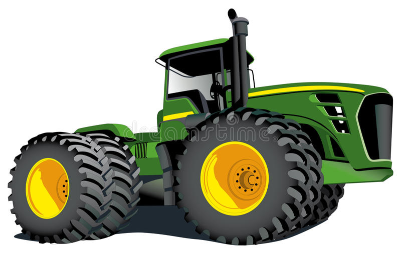 Download Tractor John Deere editorial image. Image of black, field - 15564860