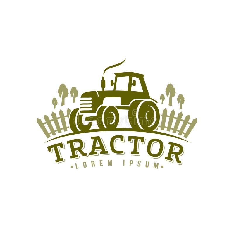 Free Tractor Logo, Icon. Emblem On White Background Stock Image - 97395711