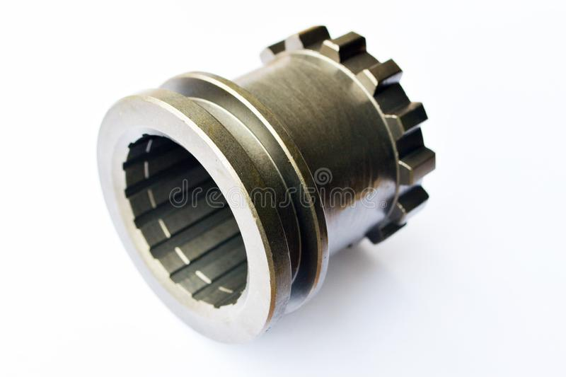 Tractor power take-off shaft coupling royalty free stock images