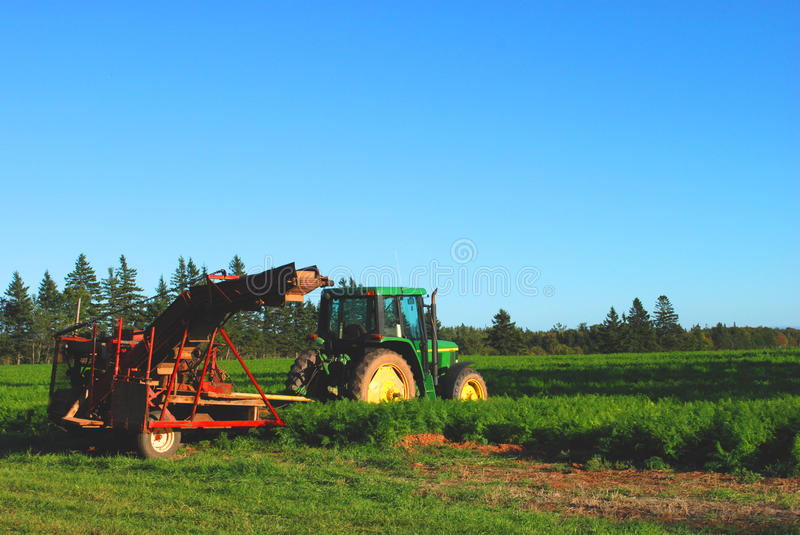 Tractor at Rest royalty free stock images