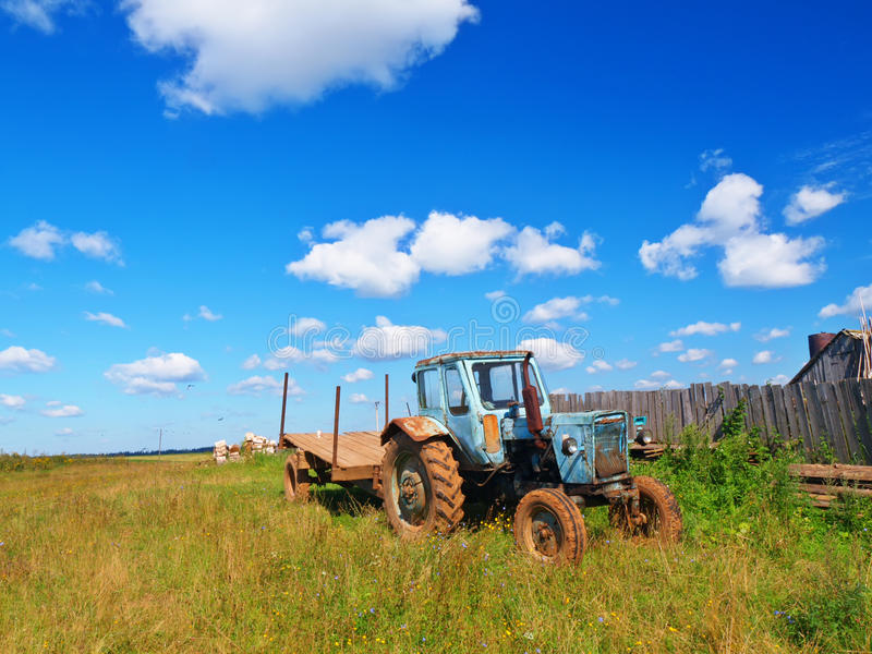 Download Tractor stock photo. Image of farming, seasons, tractor - 30884526