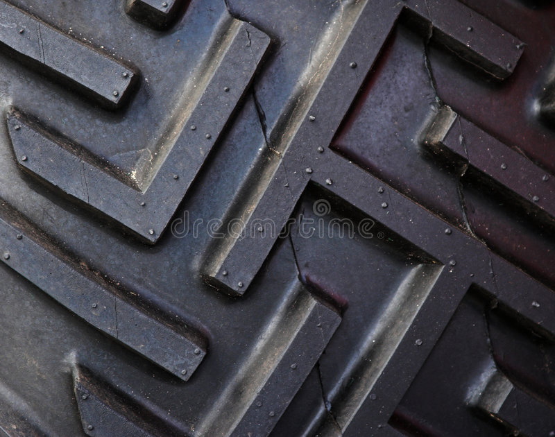 Download Tractor Tire Tread stock photo. Image of traction, black - 1410112