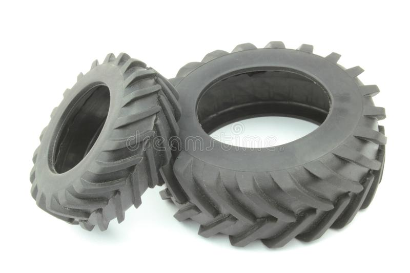 Tractor Tires Stock Image