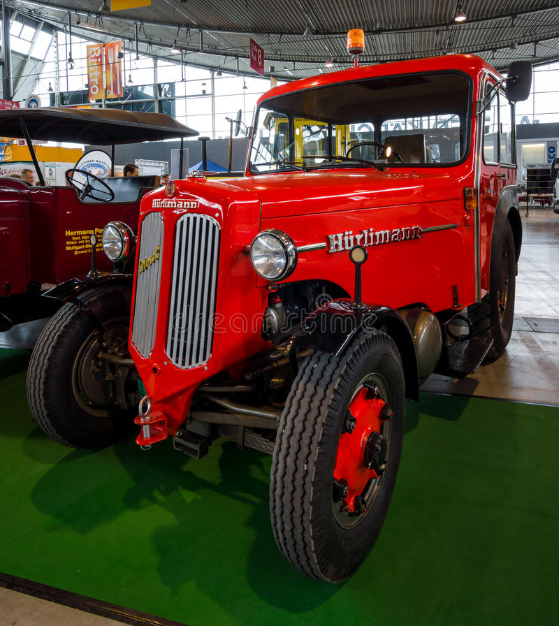Tractor unit Huerlimann D800 Industrie, 1968. royalty free stock photos